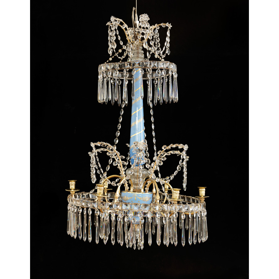 A Russian late 18th century chandelier