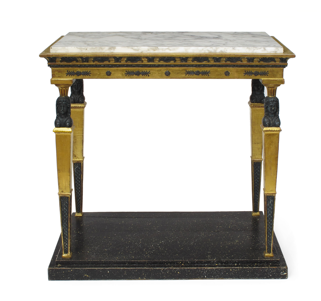 A late Gustavian console table